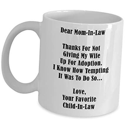 Mother In Law Funny Coffee Mug