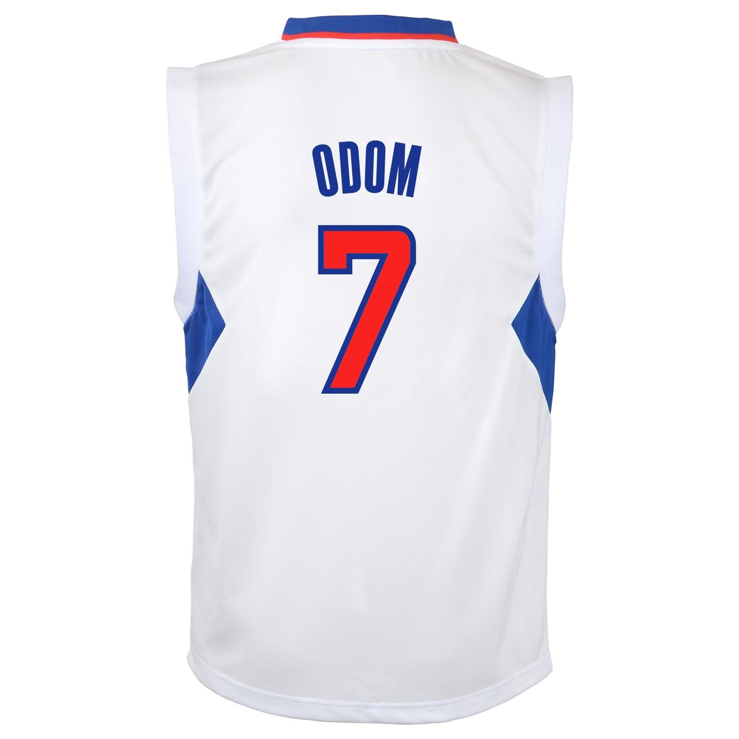 c01461480f509 ... Amazon.com NBA Los Angeles Clippers Lamar Odom Youth 8-20 Replica Home  Jersey Lakers 7 ...