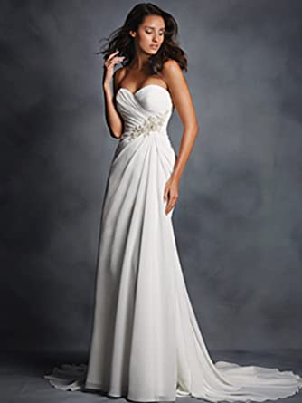 b321320295a29 Image Unavailable. Image not available for. Color: Alfred Angelo 2514 Wedding  Dress