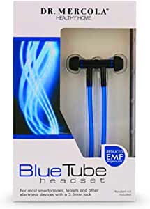 Dr Mercola, Blue Tube Headset, 1 Unit (3.5mm Jack), Louder, Clearer Sound