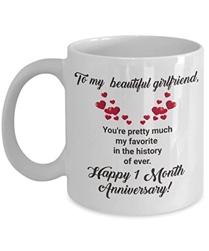 Image Unavailable  sc 1 st  Amazon.com & Amazon.com: Dating Anniversary Gifts For Her Women Girlfriend Coffee ...