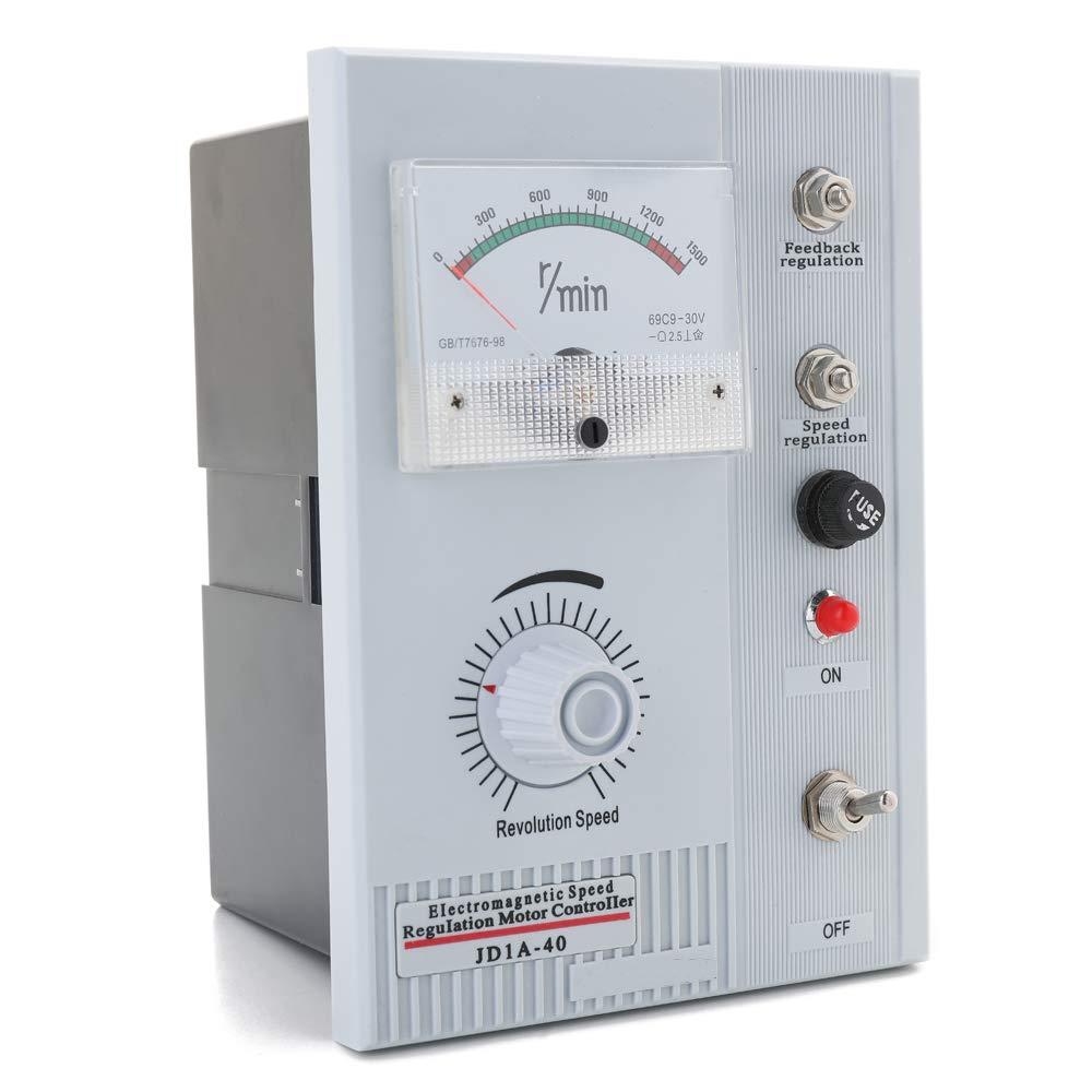 controlador de variador inversor ecol/ógico AC 220V JD1A-40 Regulaci/ón de velocidad electromagn/ética de Fesjoy