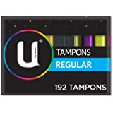 U By Kotex Tampons Regular (Pack of 192)