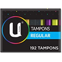 U By Kotex Tampons Regular (Pack of 192)