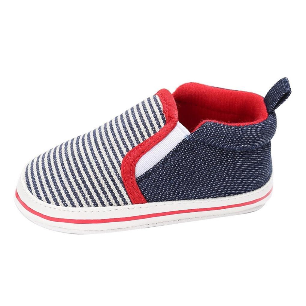 Vovotrade Clásico Bebé Niño Pequeño Cuna Zapatos Ponerse Zapatos Confort Primer Paso Mocasines Prewalker Suave Antideslizamiento Zapatos: Amazon.es: Zapatos ...