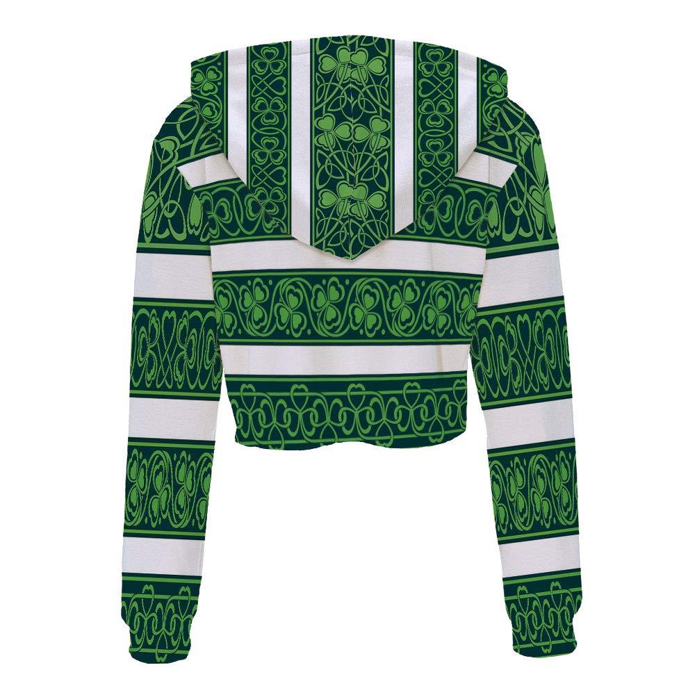 Sweatshirt Women 3D Pullover Sweatshirts S//M MulticolorRetro Classical Checkere