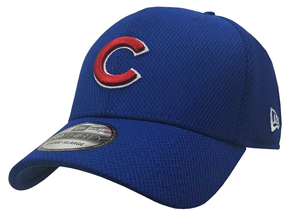 4b2a377d822 New Era Chicago Cubs Baseball Cap Hat MLB 39Thirty Stretch 3930 70322398 at  Amazon Men s Clothing store