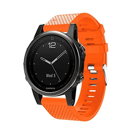 XingWangFa for Garmin Fenix 5S/Fenix 5S Plus Straps Bands Soft ...