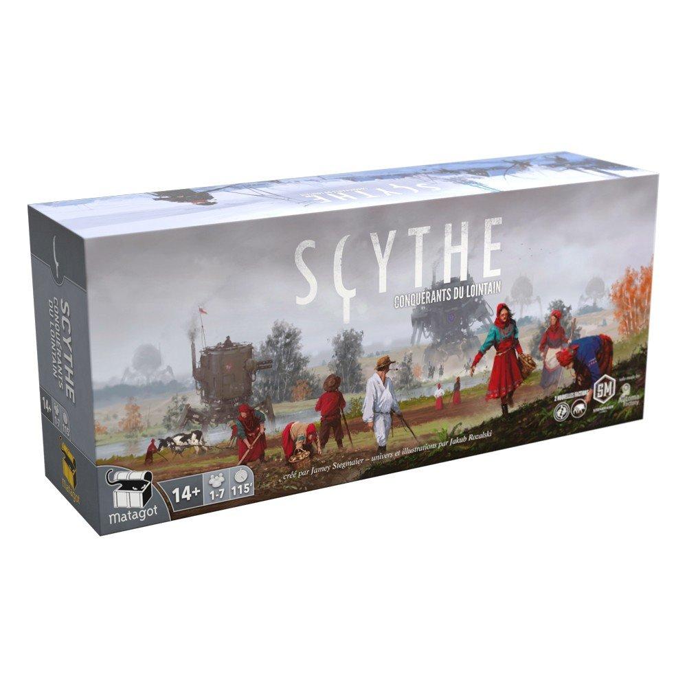 Scythe conquetes du lintain FR: Amazon.es: Juguetes y juegos