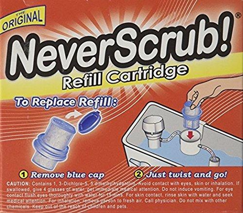 [해외]NeverScrub System 용 리필 카트리지 1.65oz (3 팩)/Refill Cartridge for NeverScrub System 1.65oz (3 Pack)