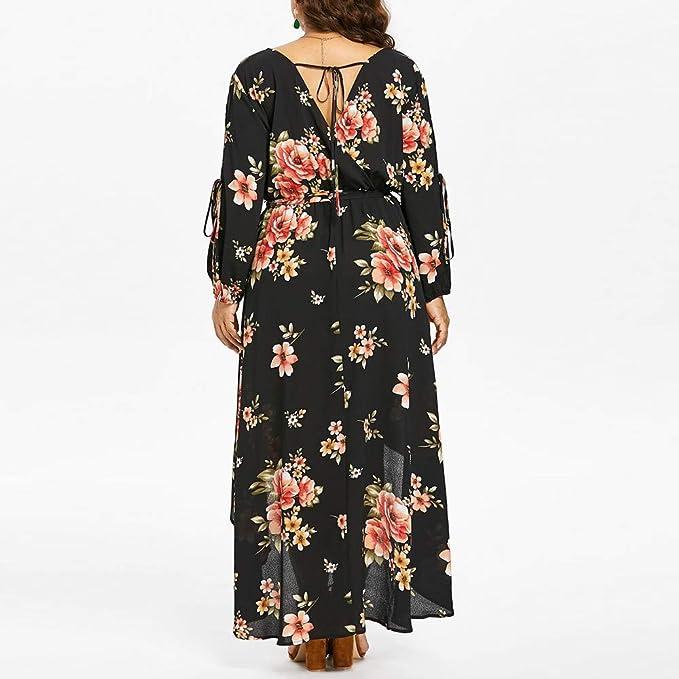 76ebbef65f033 Amazon.com  Clearance! Oliviavan Women Casual Plus Size Dress ...