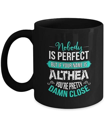 amazon com personalization mugs name is althea coffee mugs