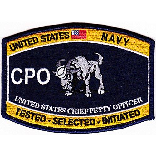 NR - CPO GOAT LOCKER Chief Petty Officer Patch (Uniform Petty Officer)
