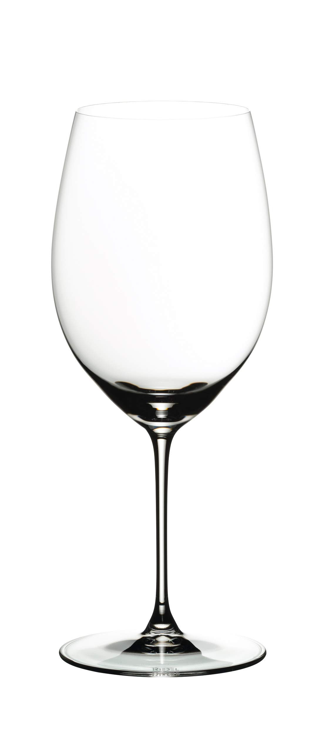 Riedel 6449/0 Veritas Cabernet/Merlot Wine Glasses, Set of 2, Clear by Riedel (Image #2)
