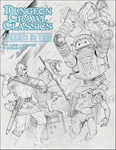 DCC #79: Frozen in Time: Sketch Cover