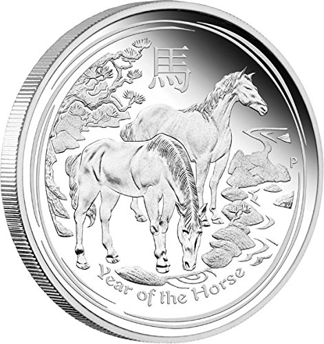 2014-AU-Modern-Commemorative-HORSE-Lunar-Year-Series-1-Oz-Silver-Proof-Coin-1-Australia-2014-Dollar-Perfect-Uncirculated