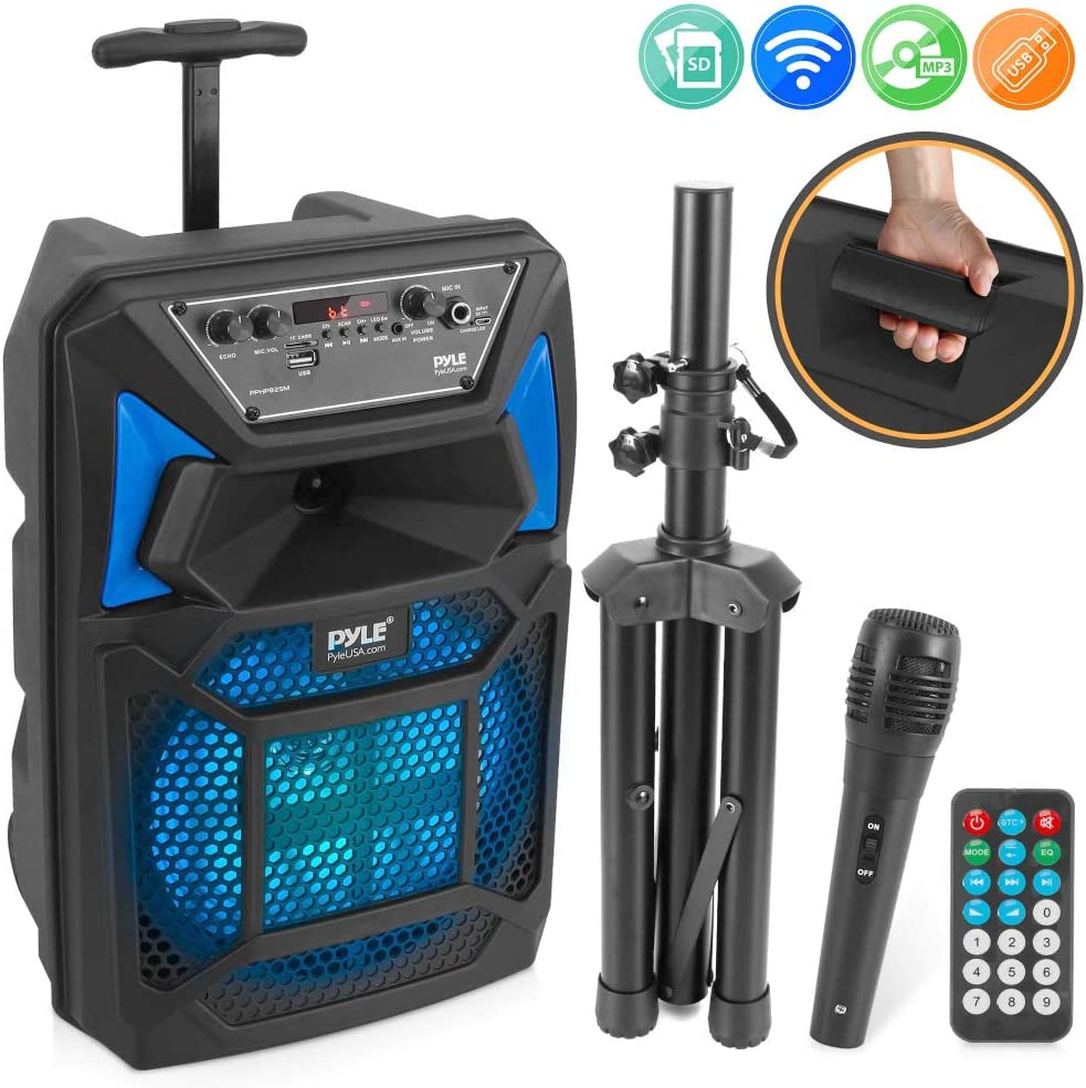 Pyle - Bluetooth PA Speaker & Microphone System