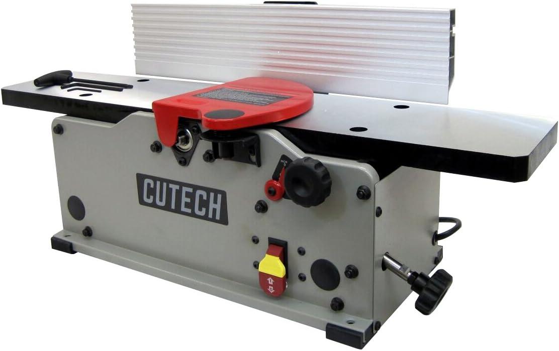 Cutech 40160H-CT 6 Bench Top Spiral Cutterhead Jointer