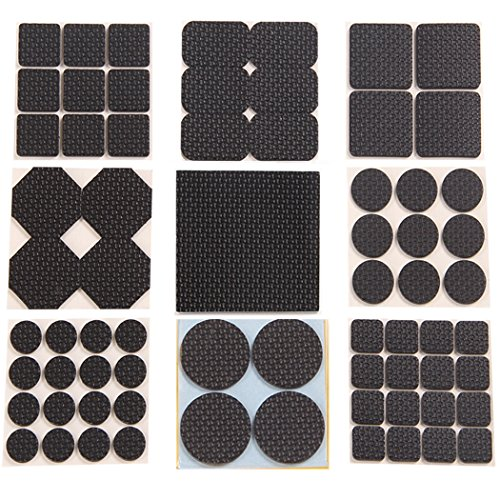 Multifunctional Furniture Pads Table Chair Mat Furniture and Floor Protection Pad Antiskid Noise Proof Stool Leg Foot Sleeve 9 (Anti Skid Foam Pad)