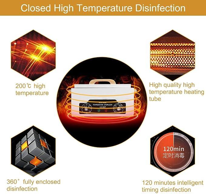 Caja de Esterilización, Esterilizador de Alta Temperatura, Estuche ...