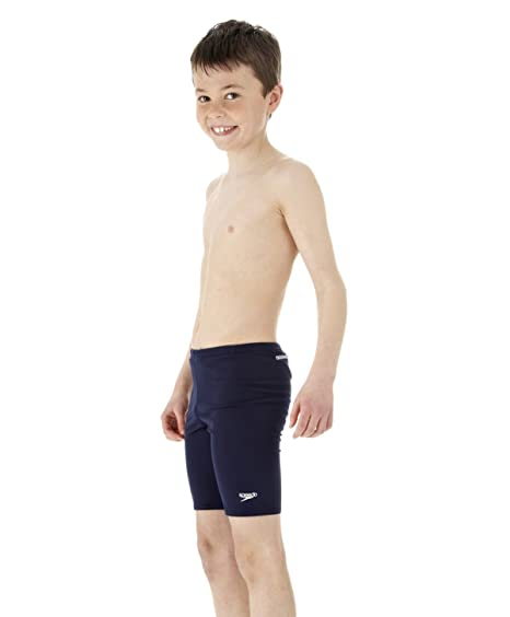 ba49fb21228bc Image Unavailable. Image not available for. Color  28 quot  Navy Speedo Boys  Endurance Jammer Swim Shorts