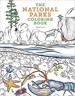 National Parks Coloring Book Dover Nature Coloring Book