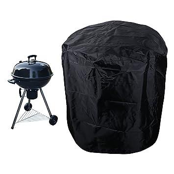 JNCH Protector Funda para Barbacoa Redonda 70cm*70cm Cubierta Impermeable BBQ Accesorio Barbacoa