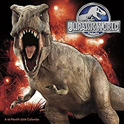 Jurassic World - 2016 Calendar 12 x 12in
