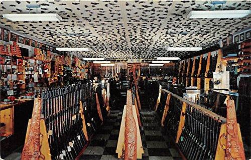 Hy Hunter's American Weapons Corp Gun Store Burbank, California, CA, USA Old Vintage Hunting Postcard Post - Stores Burbank