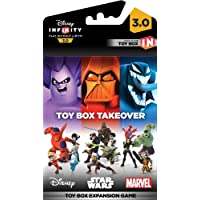 DISNEY INFINITY 3.0 TOY BOX TAKEOVER DISC