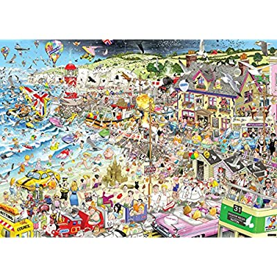 Gibsons I Love Summer Jigsaw Puzzle (1000-Piece): Toys & Games
