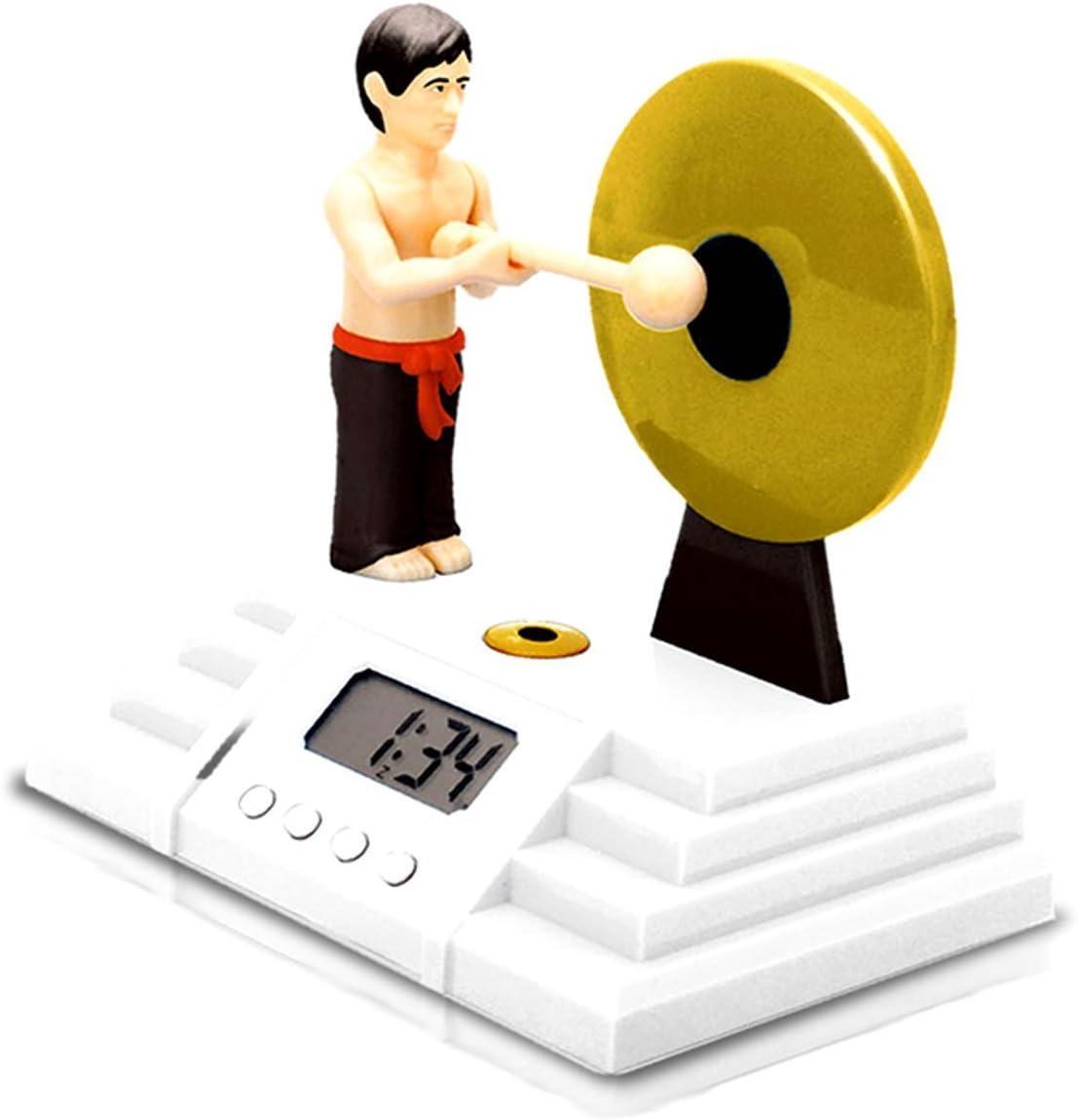 ゴング 型 デジタル 目覚まし 時計
