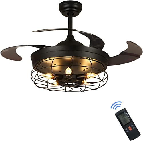 SILJOY 36 Inches Industrial Ceiling Fan