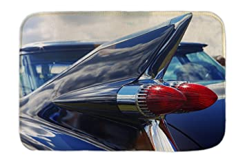 Leotie GmbH Cama Perro Coches Vintage Aleta de la Cola Impreso 40x60 cm: Amazon.es: Hogar
