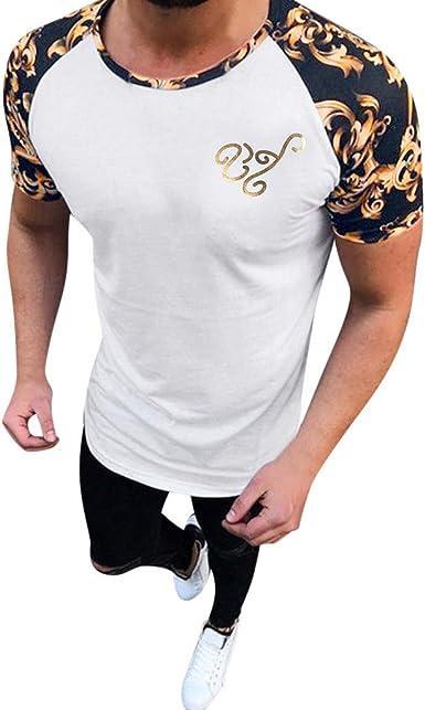 Berimaterry Camiseta de Camuflaje Hombre Militares Camisetas Deporte Ropa Deportiva Camisa de Manga Corta de Camuflaje Slim fit Casual para Hombres Tops Blusa Rayas Casual de Verano: Amazon.es: Ropa y accesorios