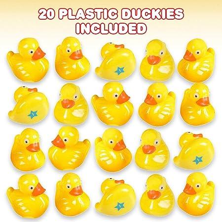 2.5 PLASTIC DUCK MATCHING GAME