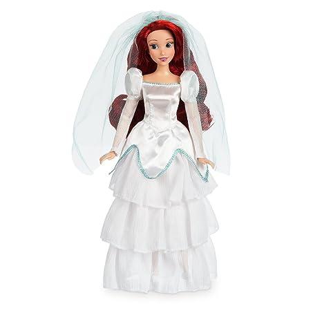 b8163fcbd987 Ariel Wedding Classic Doll nel suo abito da sposa in raso bianco - 11 1