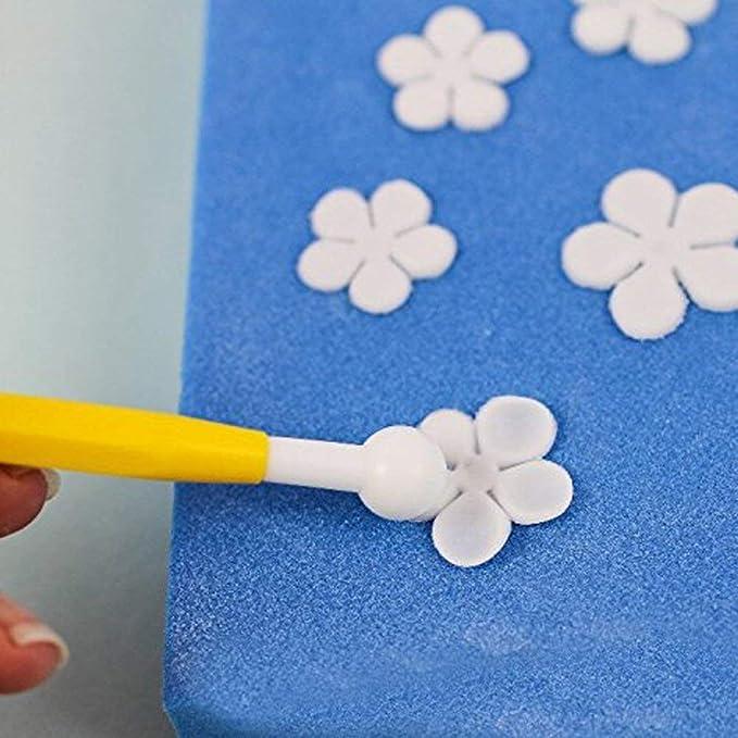 herramientas de fondant de modelado de plástico 8pcs y ...
