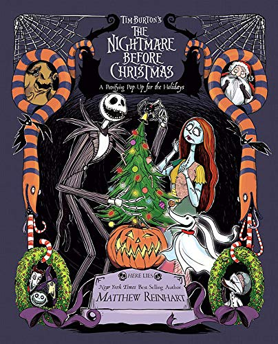 Tim Burtons The Nightmare Before Christmas Pop-Up A Petrifying Pop-Up for the Holidays [Reinhart, Matthew] (Tapa Dura)