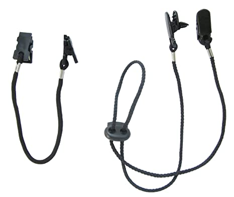 e3b72cc3d54 Amazon.com   Alex Carseon Cap Clips and Hat Chin Strap - Set of 2 Cord  Retainers with Clips for Golfing
