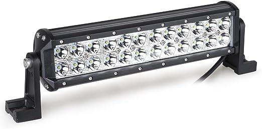 Amzdeal-Proyector LED, 72 ® 24-LED-Faro LED-Linterna LED de obra ...
