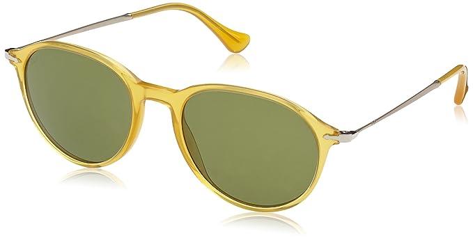 d84eb3d124 Persol 3125S 204 P1 Yellow 3125S Round Sunglasses Polarised Lens ...