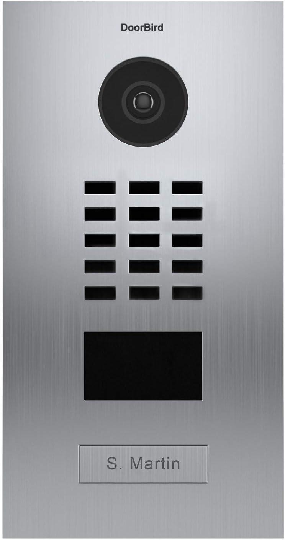 Door Bird D2101V Portier Video IP avec Lecteur de Badge RFID-1 Sonnette-INOX-Doorbird