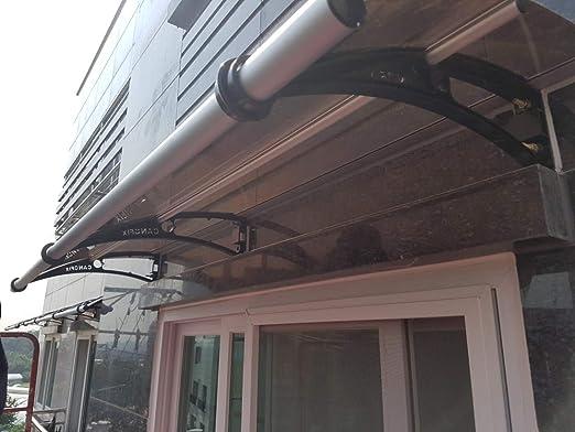 CANOFIX PC1000Wx650P - Toldo, Color Negro y Bronce: Amazon.es: Jardín
