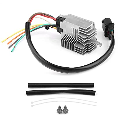 Amazon com: Radiator Fan Control Module, 8E0959501AG Replacement for