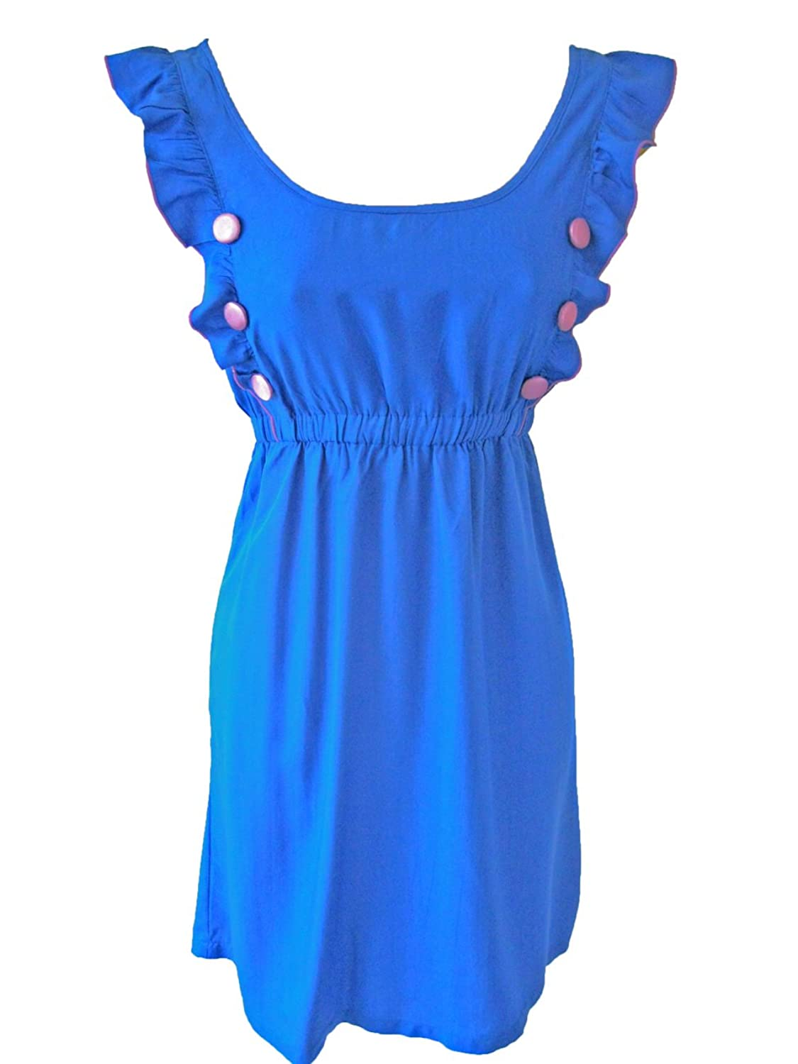 Sugarhill Boutique Birdie Dress Blue XS / UK 8