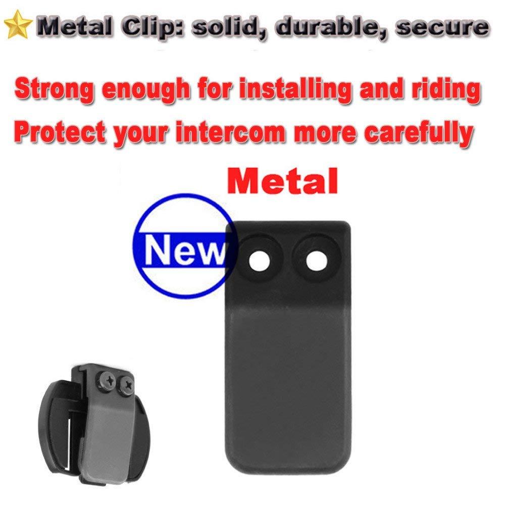 LEXIN 2 pcs Mounting Brackets for R6 Bluetooth Intercom