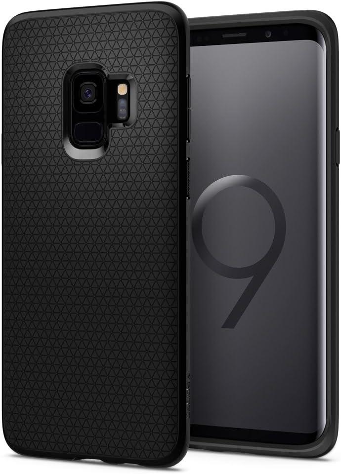 Spigen Liquid Air Armor Designed for Samsung Galaxy S9 Case (2018) - Matte Black