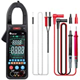 Duotar Alicate Amperímetro portátil de mão Cor LCD Amperímetro de tela grande 6000 contagens NCV Tensão AC Corrente Continuid