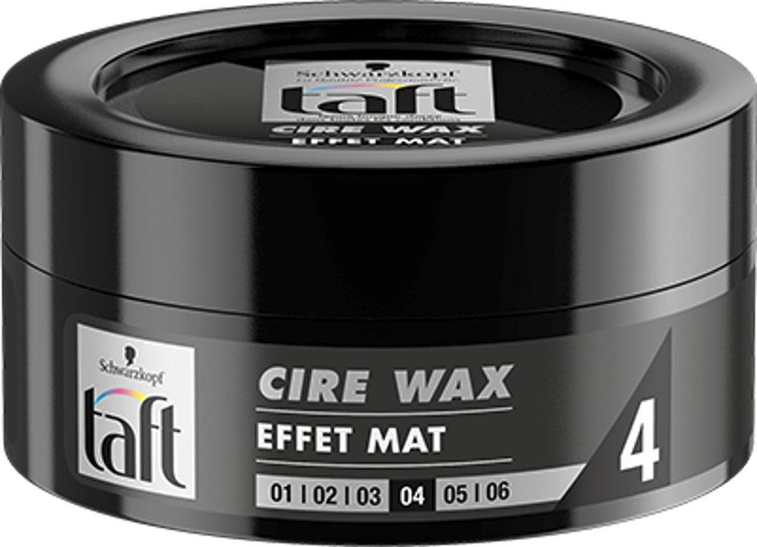 Taft Cire Wax Effet Mat Pot de 75 ml 2135970